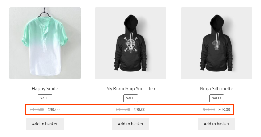Set Up WooCommerce Sitewide Discount | sitewide discount on Shop page