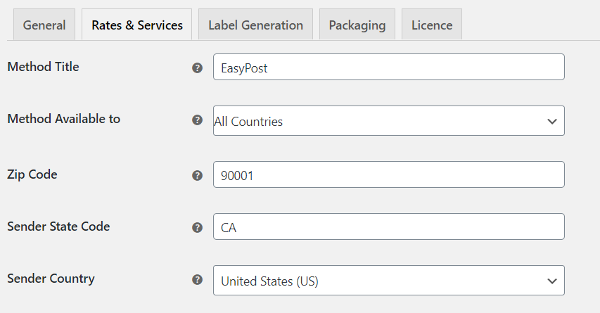 How to remove WooCommerce Shipping rates and display Elex (EasyPost, AustraliaPost, USPS, DHL, UPS) shipping live rates | Adding address