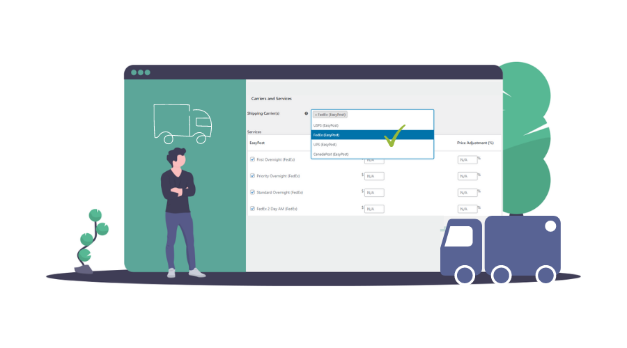 ELEX WooCommerce Shipping Calculator | Set Shipping Carriers & Services