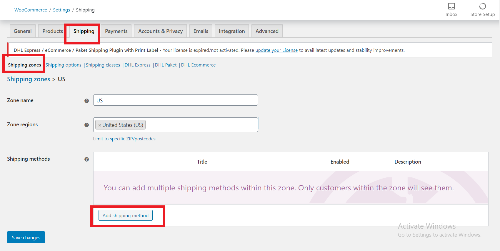 Hide other shipping methods when FREE SHIPPING Coupon code is applied | creating shipping zone