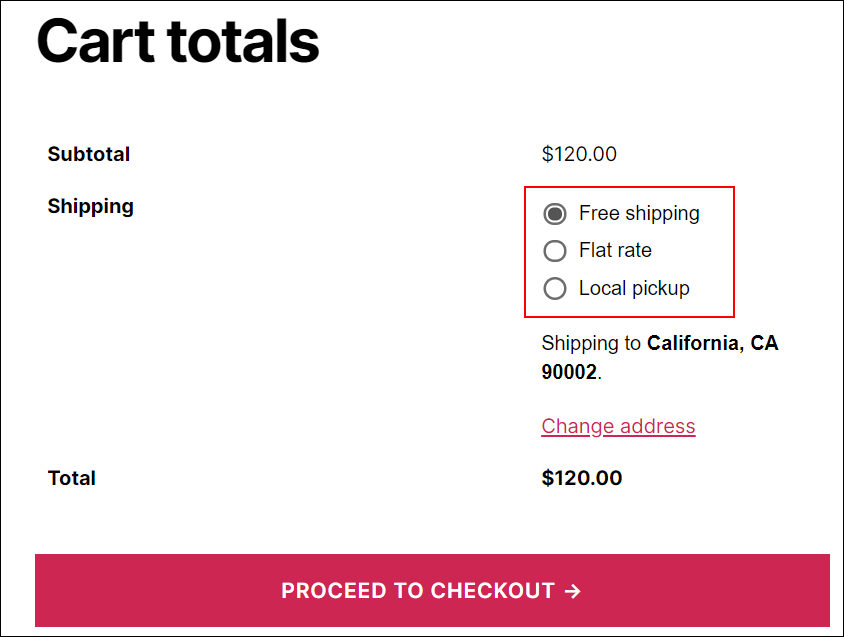How to remove WooCommerce Shipping rates and display Elex (EasyPost, AustraliaPost, USPS, DHL, UPS) shipping live rates | default shipping rates on cart page