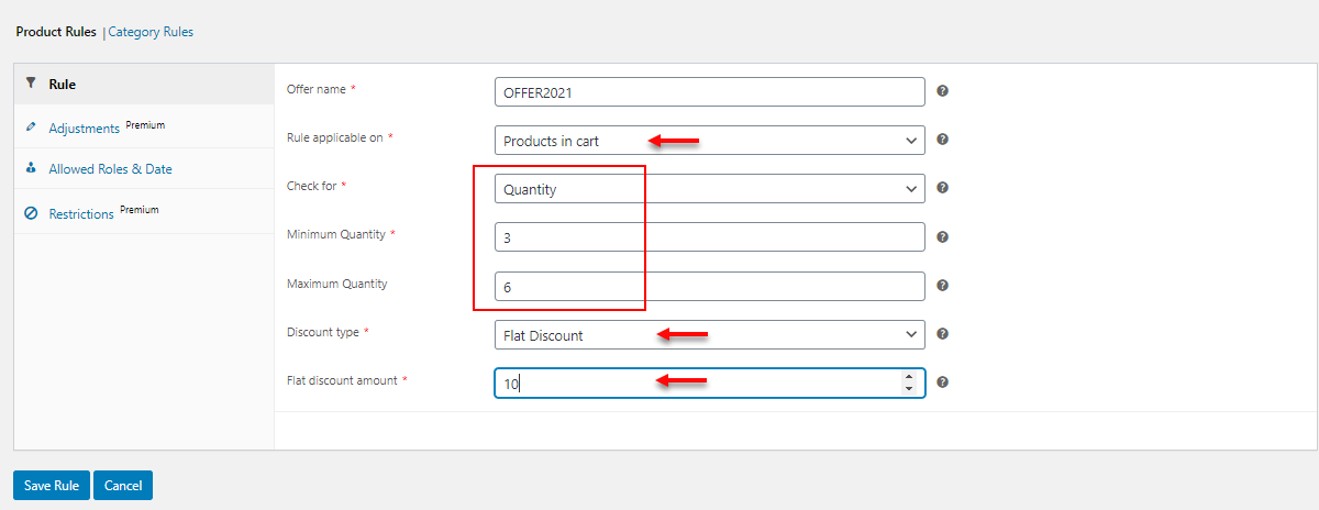 How to Set Up Pricing Deals for WooCommerce Using this Free Plugin | flat discount using product rules