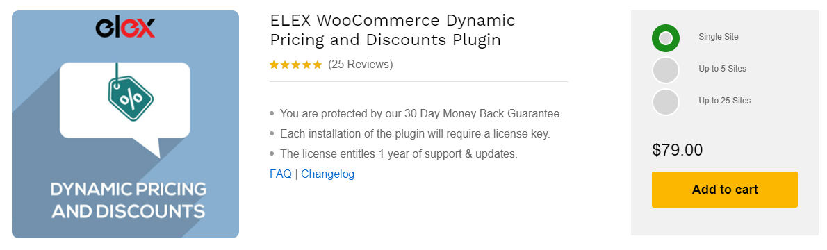 ELEX WooCommerce Dynamic Pricing and Discounts Plugin | ELEX WooCommerce Dynamic Pricing and Discounts Plugin