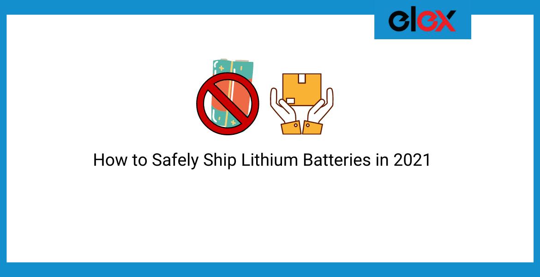 ship lithium batteries
