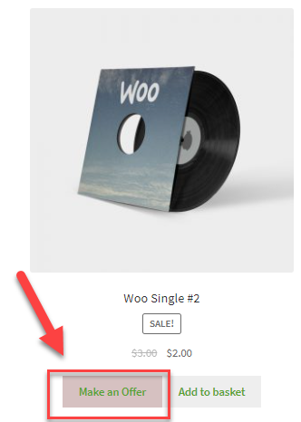 create a make an offer option on WooCommerce product page