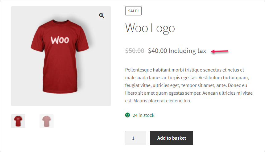 How to Set Up WooCommerce Custom Price Labels? | added suffix on product page
