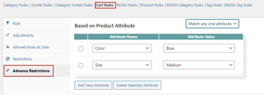 An Ultimate Guide on WooCommerce Dynamic Pricing | discount based on attributes