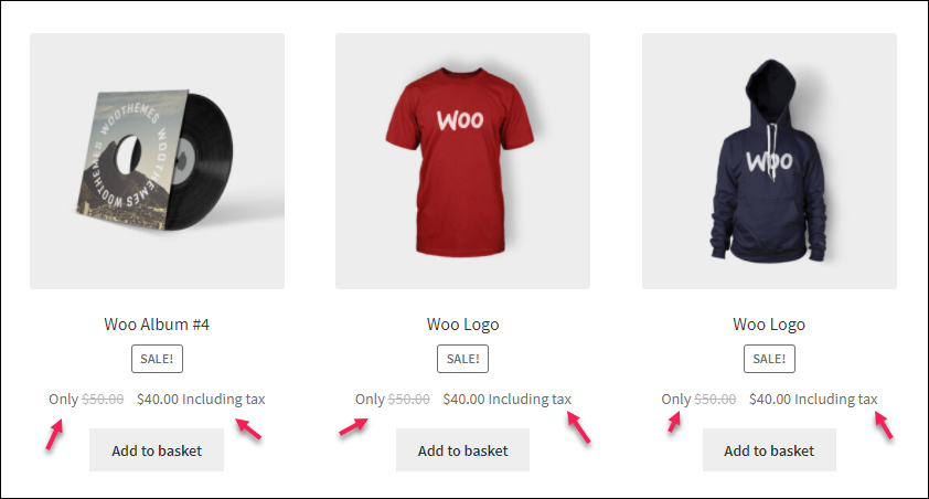 How to Set Up WooCommerce Custom Price Labels? | prefix and suffix on the Shop page
