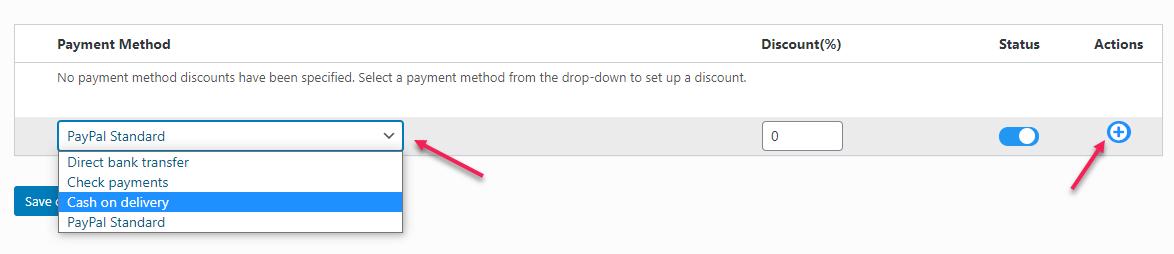 ELEX WooCommerce Discount per Payment Method Plugin | Add payment methods