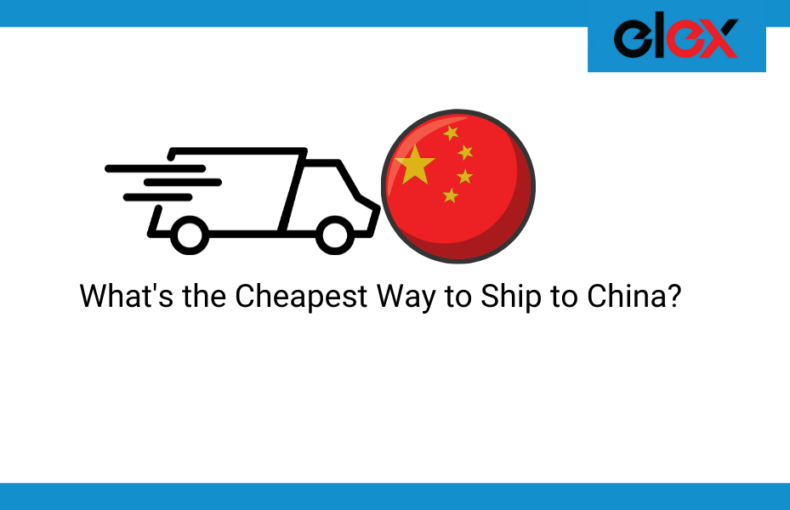 cheapest way to ship to China