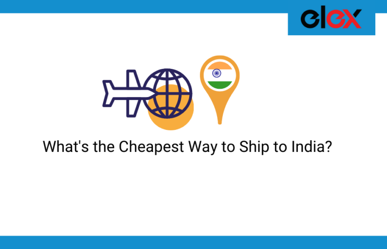 cheapest way to ship to India
