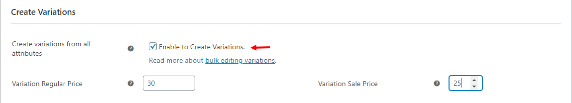 How to Change Variable Product Prices in WooCommerce?   Create-variations-from-all-attributes
