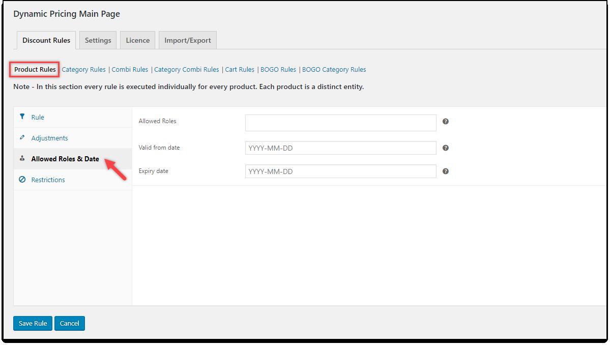 ELEX WooCommerce Dynamic Pricing Plugin | WooCommerce-Dynamic-Pricing-Product-Roles-Dates-Settings