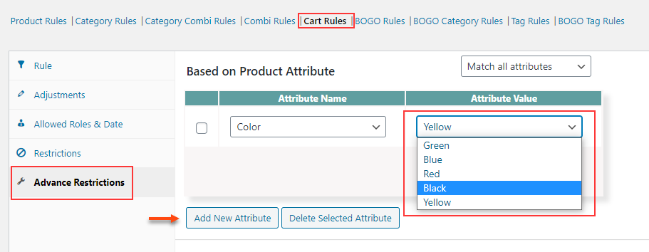 How to Change Variable Product Prices in WooCommerce?   filter-products-based-on-attributes