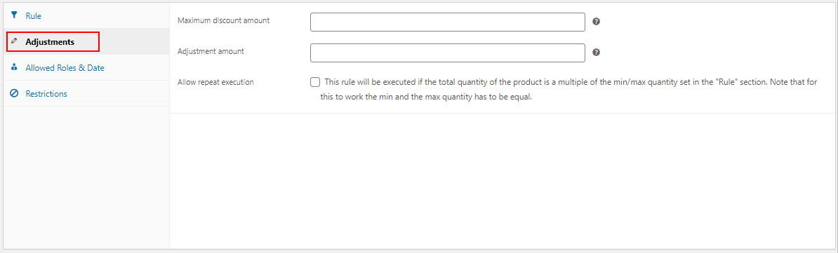 How to Change Product Price Dynamically for WooCommerce?   Adjustments-applicable-on-products