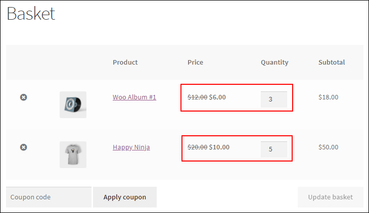 How to Change Product Price Dynamically for WooCommerce?   Combinational-rule-example