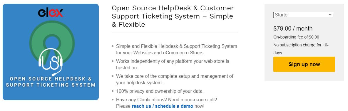 The best zendesk alternative | Open Source HelpDesk & Customer Support Ticketing System - Simple & Flexible