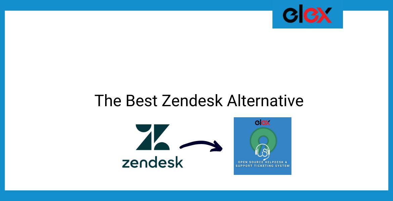 The Best Zendesk Alternative | Blog Banner