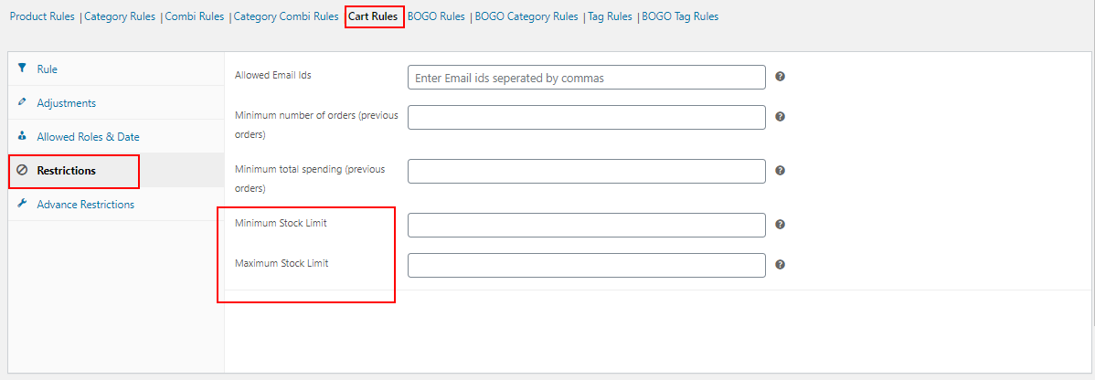 How to Change Product Price Dynamically for WooCommerce?   minimum-and-maximum-stock-limit