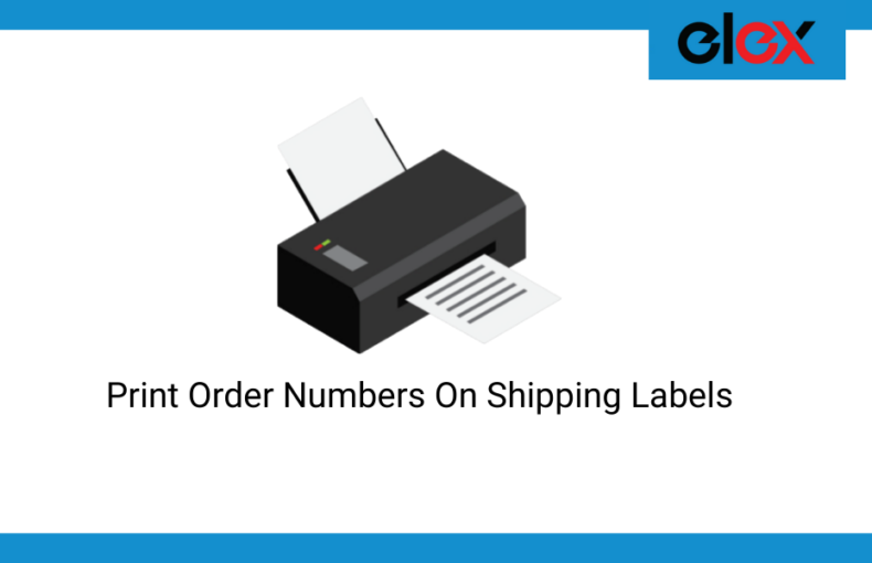 How to print order number on WooCommerce Shipping Label