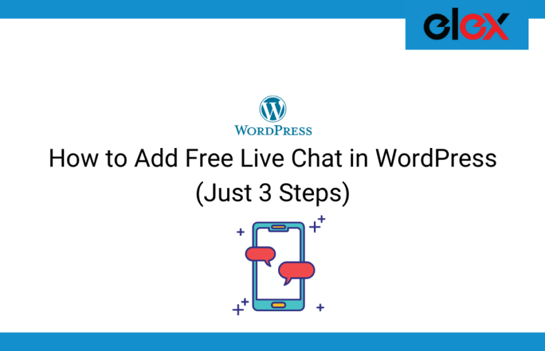 How to Add Free Live Chat in WordPress | Blog Banner