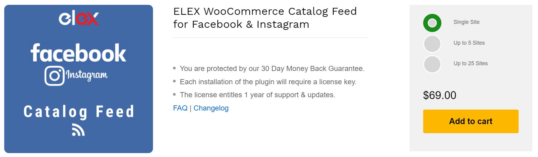 Facebook Catalog feed | WooCommerce Catalog feed | ELEX WooCommerce Catalog Feed for Facebook and Instagram