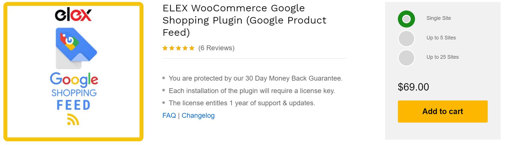 Google Shopping Feed Plugins | WooCommerce Plugins for Google Shopping Feed | ELEX Woocommerce Google Shopping Plugin