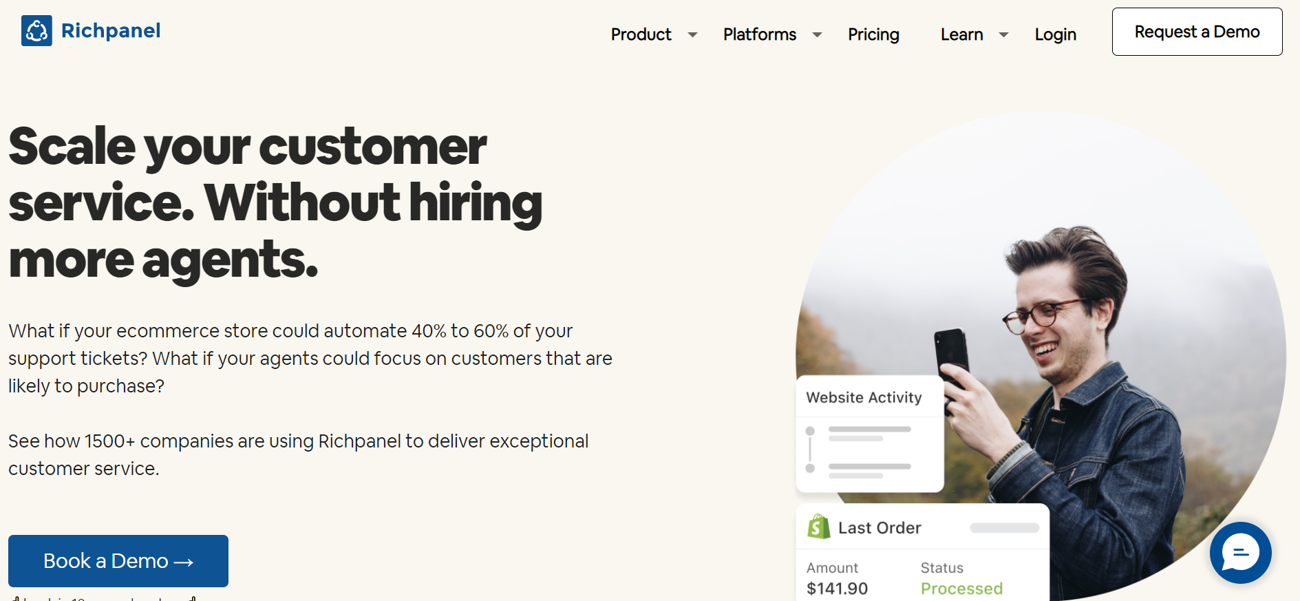 Best Help Desk Ticketing Systems   Richpanel Helpdesk & Live Chat for WooCommerce