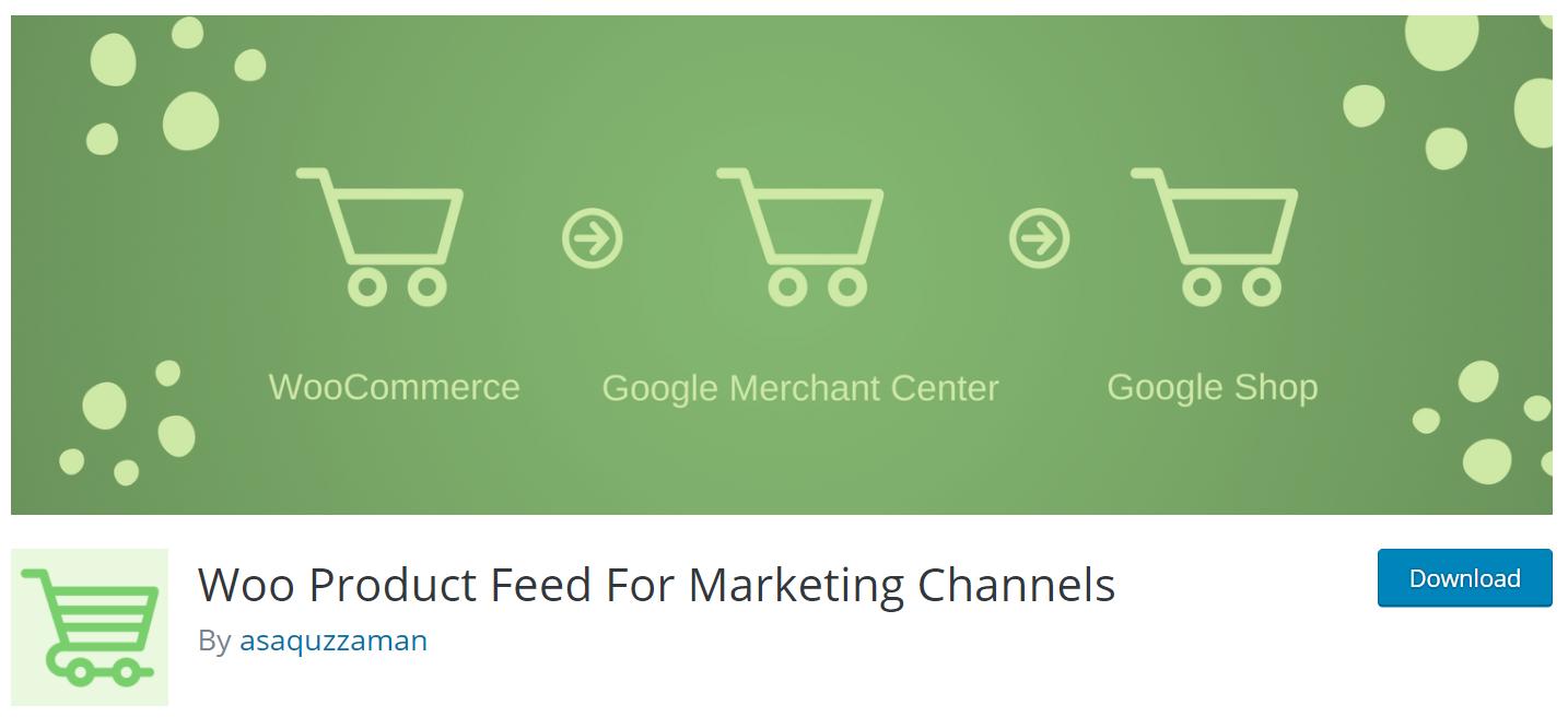 Google Shopping Feed Plugins | WooCommerce Plugins for Google Shopping Feed | Woo Product feed for Marketing Channels