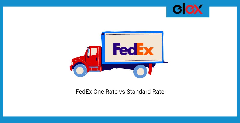 FedEx One Rate vs Standard Rate